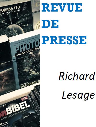 revue de presse Richard Lesage